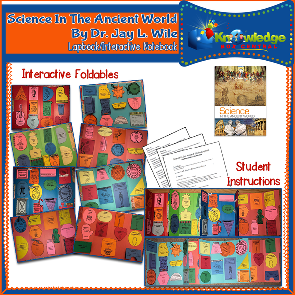 Berean Builders Elementary Series: Science in the Ancient World (by Dr. Jay Wile) Lapbook Package