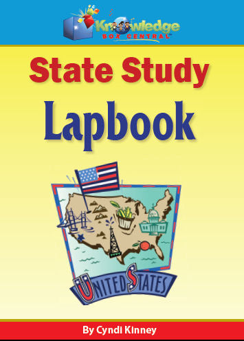 State Study Lapbook (Works With Any State)