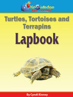 Turtles, Tortoises, and Terrapins Lapbook
