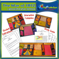 War Of 1812 Lapbook