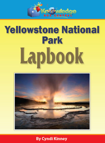 Yellowstone National Park Lapbook