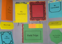 COMPLETED PHOTO | About My Homeschool Mini-Lapbook / Interactive Notebook