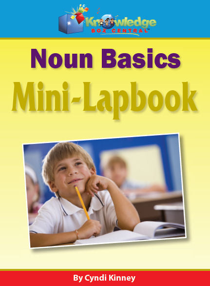 Noun Basics Mini-Lapbook