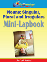 Nouns - Singular, Plural, & Irregulars Mini-Lapbook