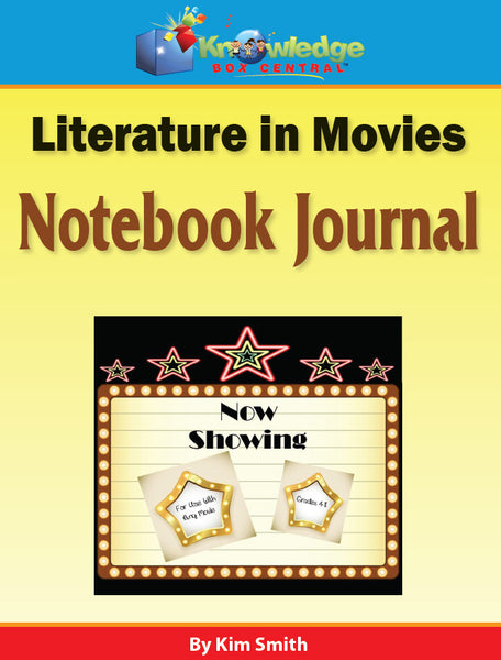 Literature in Movies Notebook Journal