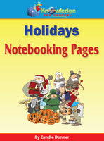 Holidays Notebooking Pages