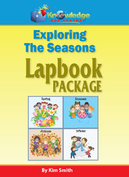 Exploring the Seasons Lapbook Package