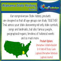 Alabama State History Products