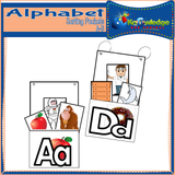 Alphabet Sorting Pockets A-D
