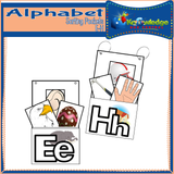 Alphabet Sorting Pockets E-H