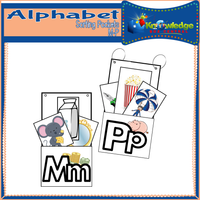 Alphabet Sorting Pockets M-P
