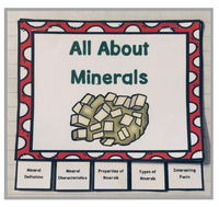 Rocks and Minerals Interactive Foldable Booklets