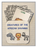 Creatures of the African Savannah Products