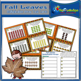 Fall Multiplication Arrays Task Cards