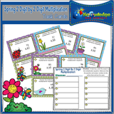 Two Digit by Two Digit Multiplication Task Cards