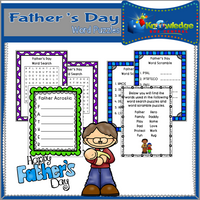 Father's Day Word Puzzles