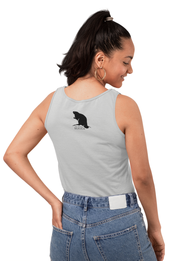The Snarky Beaver - Tank top outside logo