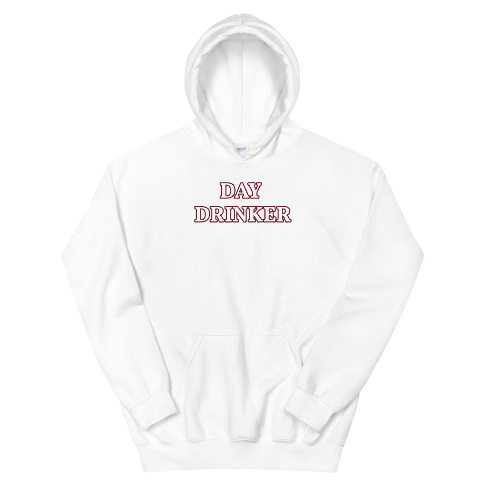 Day Drinker - Hoodie - The Snarky Beaver sarcastic funny shirt white