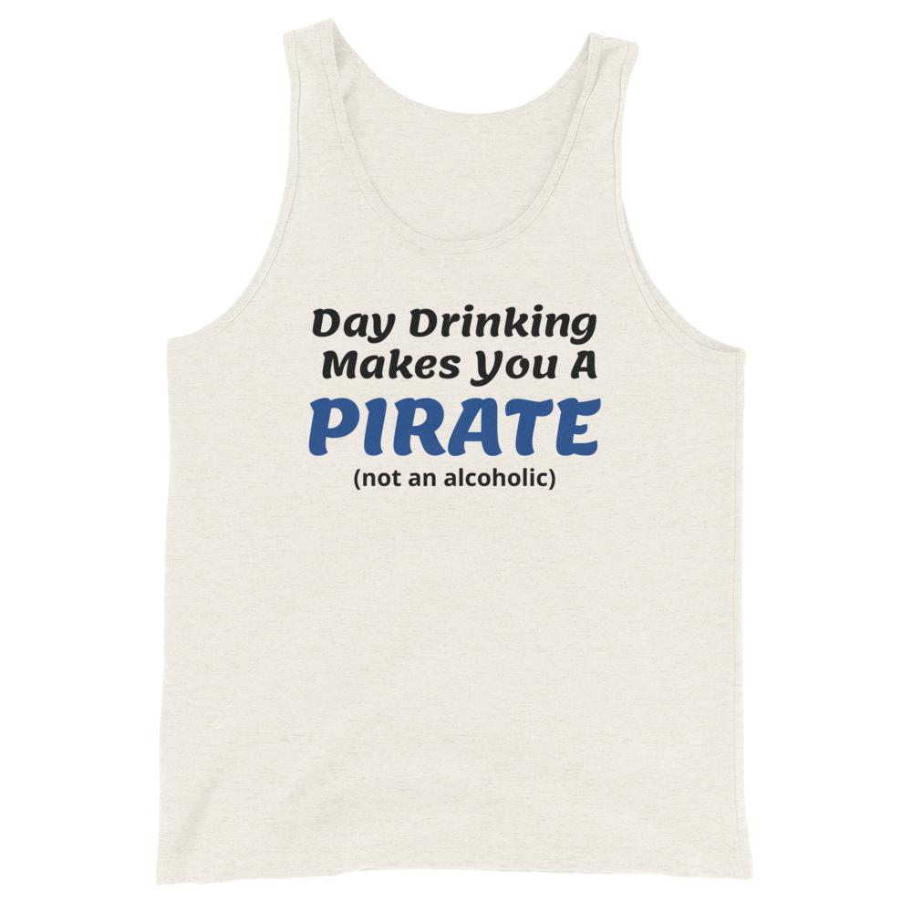 Day Drinking Pirate, Snarky Beaver, sarcastic funny shirt