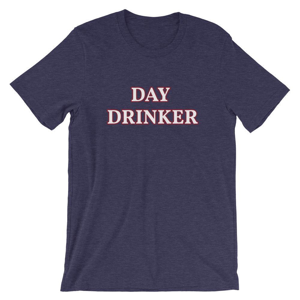 Day Drinker - Unisex T-Shirt - The Snarky Beaver sarcastic funny shirt Denim