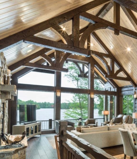 timber hand hewn trusses parmeter jay parmeter minocqua wi golden eagle log and timber homes cabin log home mart decorative truss trusses structural timbers