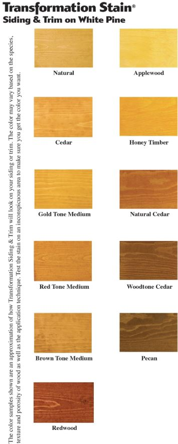 transformation siding and trim colors