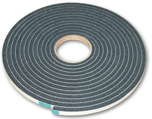 Foam Gasket Tape - Peel n Stick - 3/8in x 1/2in x 25ft - 1 Roll