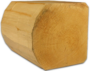 "10"" x 10"" Super-Round D-Profile - Full Log - #164 Smooth"