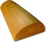 "12"" Half-Log Trim - Peeled or Smooth"