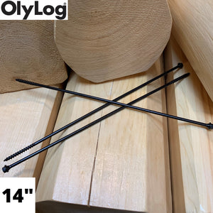 "14"" Log & Timber Screws - OlyLog"
