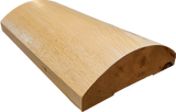 "4""x12"" Super Round Cabin Grade Half Log- Semi Smooth Surface - #486"