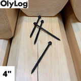 "4"" Log & Timber Screws - OlyLog"