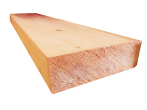 "4"" x 12"" Square-Edge Log Trim - Smooth or Hand-Hewn"
