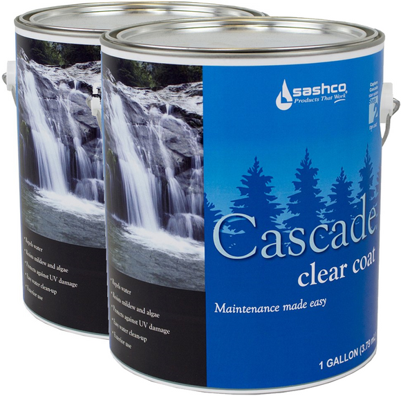 Cascade® - Exterior Clear Topcoat - 2 Gallons