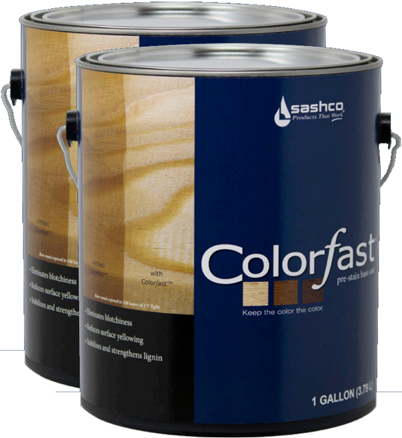 Colorƒast™ - Pre-Stain Base Coat for Wood - 2 Gallons