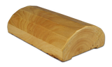 "4""x8"" Super Round Cabin Grade Half Log- Hand Peeled Surface - #441HP"