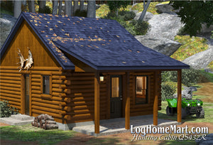 Hunting Cabin - Ranch Style - 432 sq. ft.