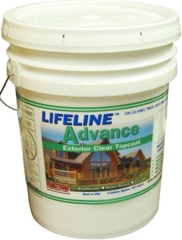 Lifeline Advance - Clear Exterior Topcoat - 5 Gallons