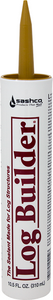 Log Builder® - Wood and Log Caulk - 10.5 oz. Single Tube