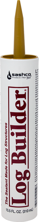 Log Builder - Wood Caulk - 10.5 oz. Single Tube