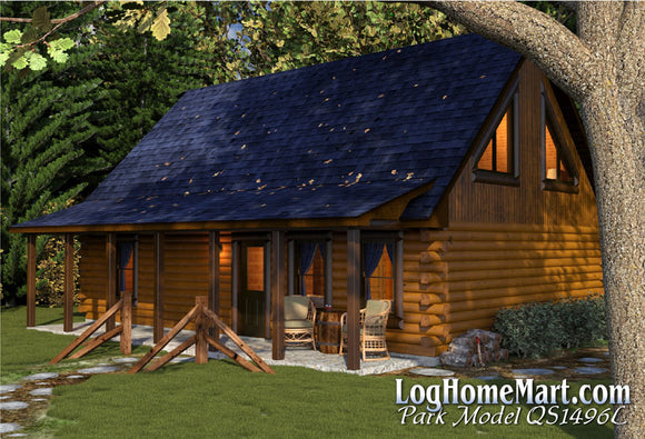 Park Model - Lofted Style - 1,496 sq. ft.