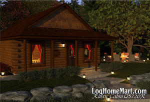 Rustic Cabin - Ranch Style - 720 sq. ft.