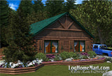Rustic Ranch - Ranch Style - 936 sq. ft.