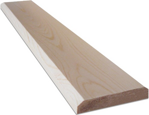 "Unfinished - Premium 1"" x 4"" Beveled Trim"