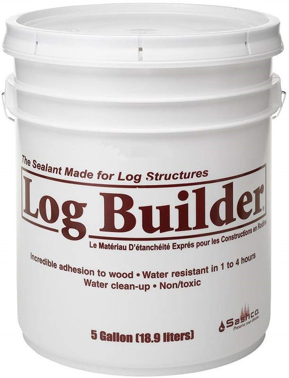 Log Builder - Wood Caulk - 5 Gallon Pail