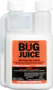 Bug Juice Insecticide - Stain/Paint Additive - 5 Gallon Treatment