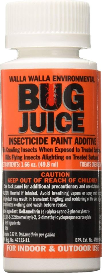 Bug Juice Insecticide - Stain/Paint Additive - 1 Gallon Treatment
