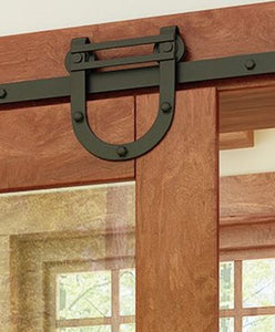 2000 Series Barn Door Hardware (Horseshoe) Flat Track Series  **Free Shipping**