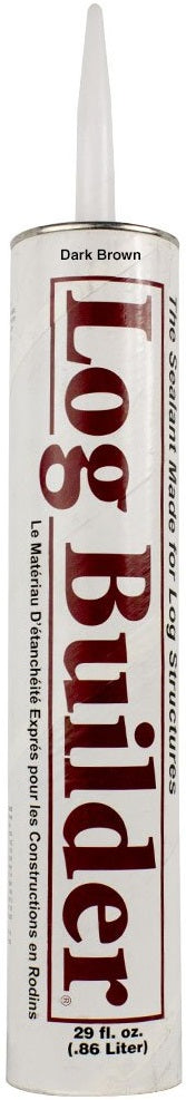 Log Builder - Wood Caulk - 30 oz. Single Tube
