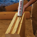 Log Builder® - Wood and Log Caulk - 10.5 oz. Tubes - Case of 12